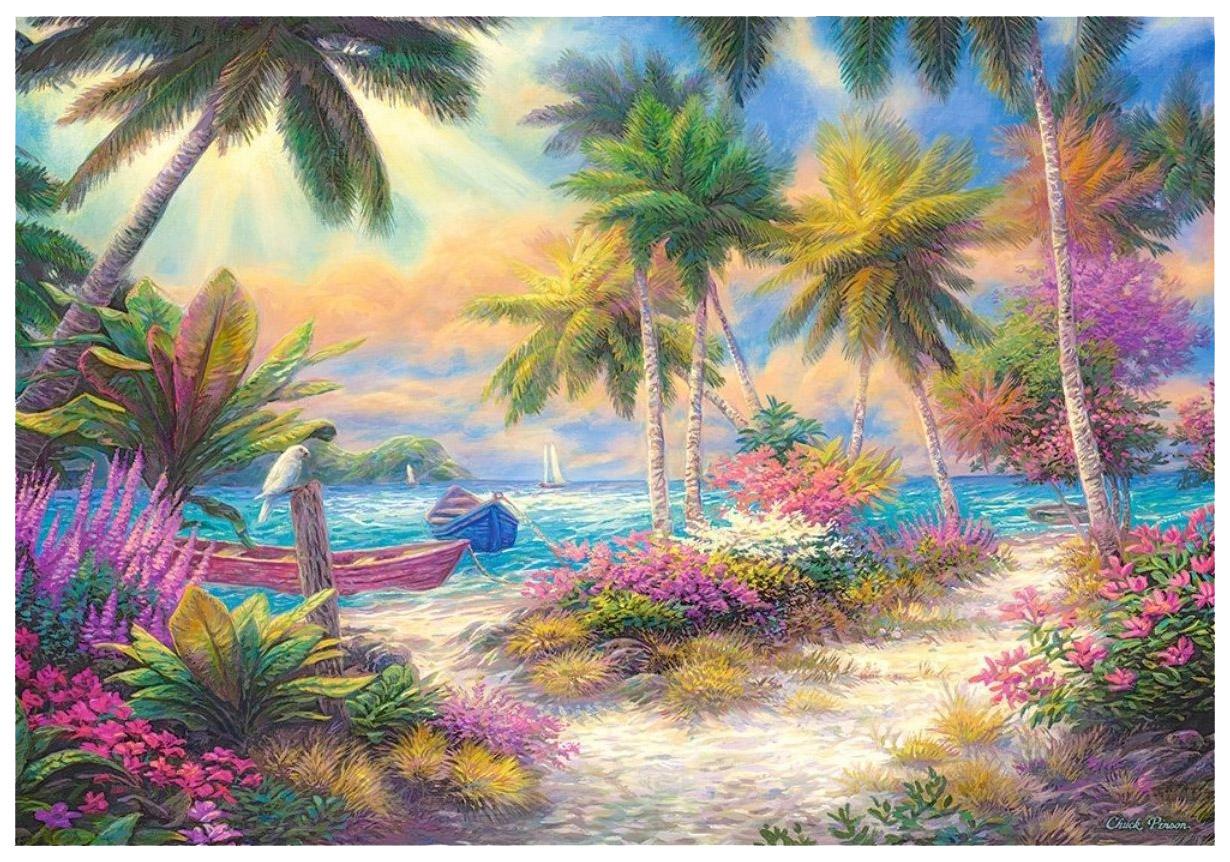 Купить Пазл Castorland Остров пальм C-103942 1000 элементов, Пазлы