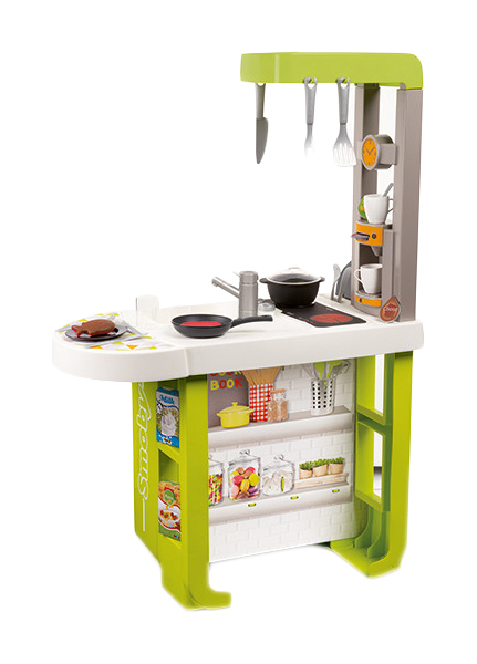 Купить Кухня детская Smoby Cherry 310909 66, 3 см 25 предметов, Детская кухня