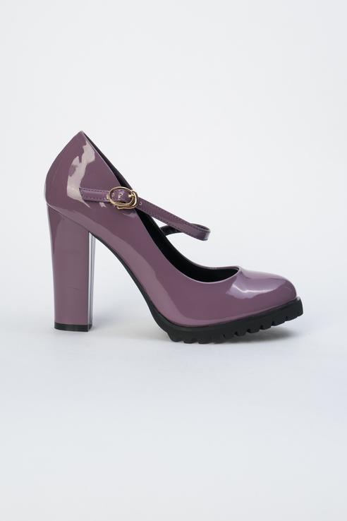 Туфли женские Calipso 271-01-IG-23-PP фиолетовые 35 RU фото