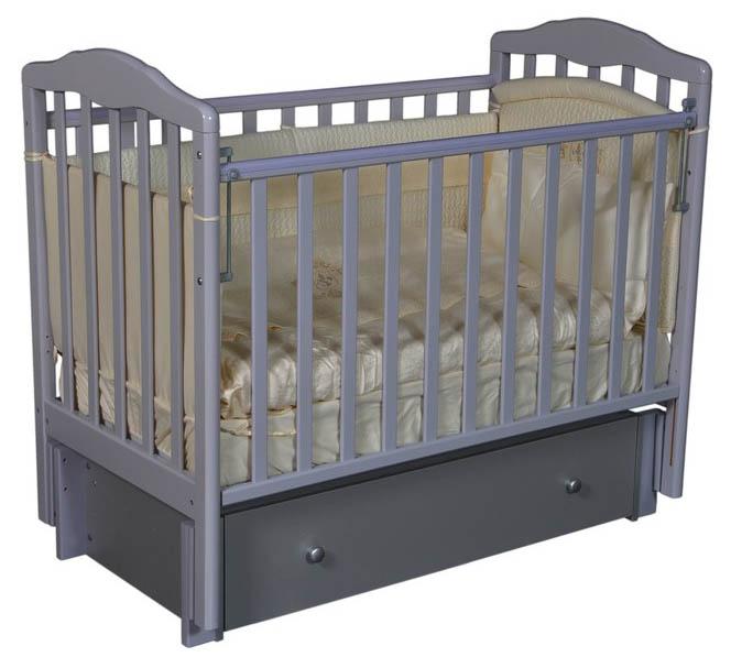 Кровать детская Антел Алита (4/6) а/с, универсальный маятник