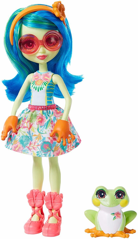 Кукла Enchantimals Тамика Квакша GFN43 фото