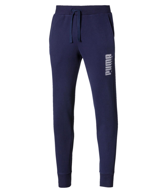 Спортивные брюки Puma Athletics Cuff, peacoat, M фото