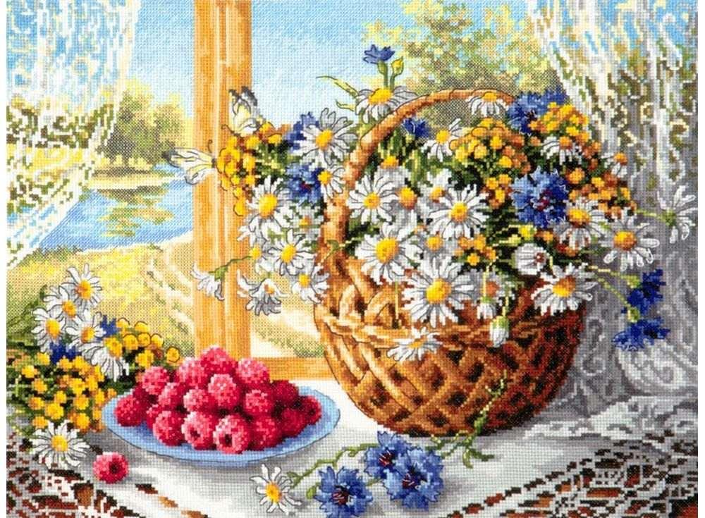 Набор для вышивания Чудесная игла Летнее утро, арт.137357