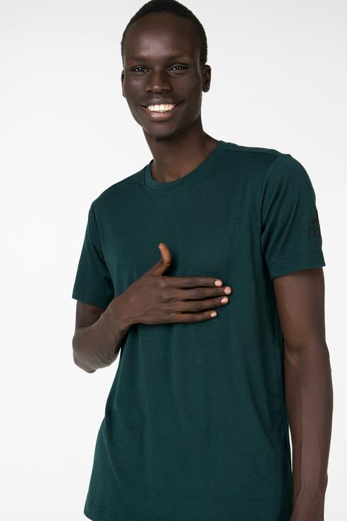 Футболка мужская Adidas BR4141 зеленая S