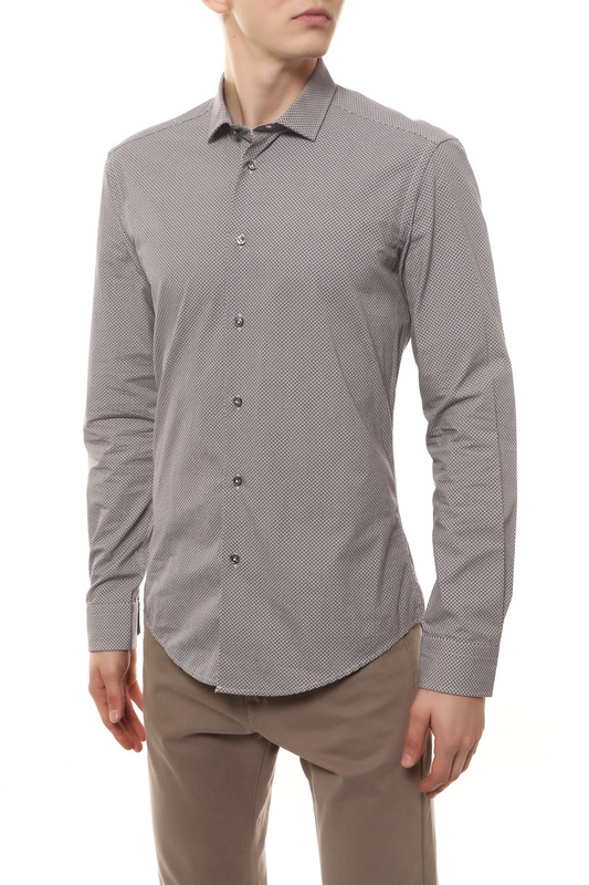 Рубашка мужская BRIAN DALES BS52 ST6919.001 красная 44 IT