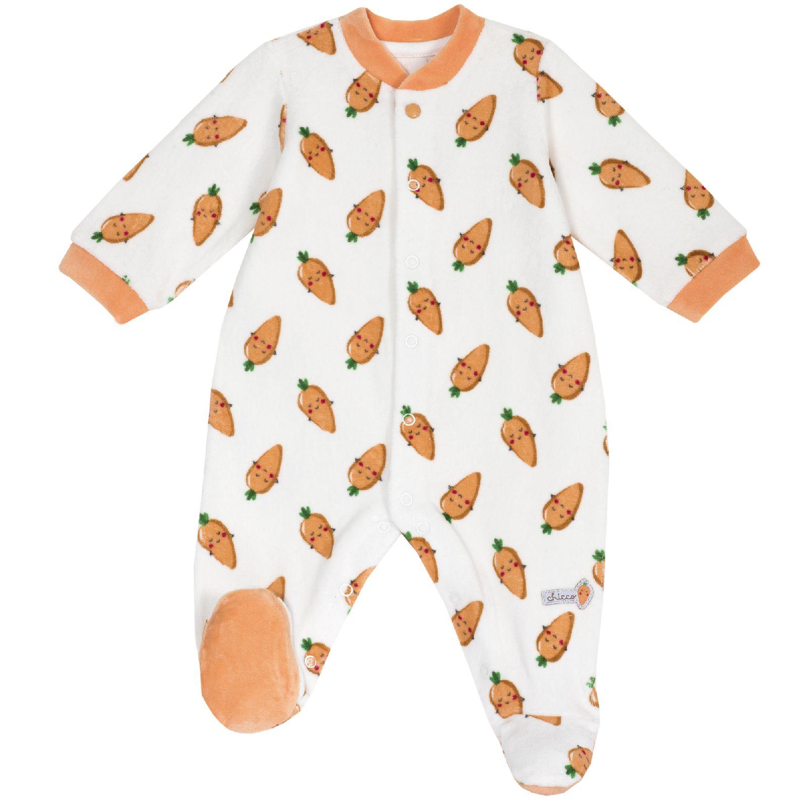Комбинезон Chicco для мальчиков и девочек, р. 62, цвет оранжевый