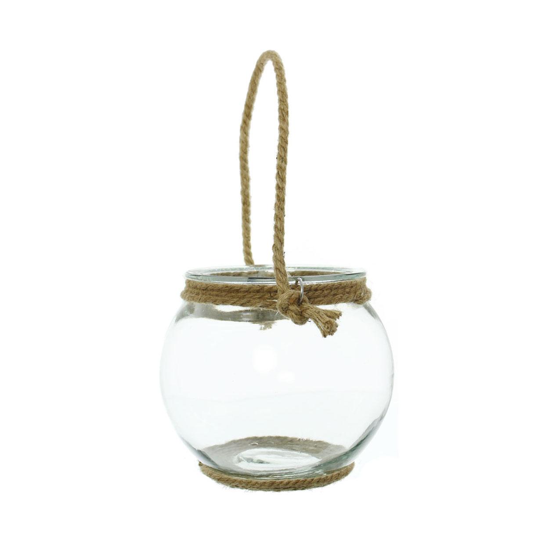 Декоративный подсвечник ваза 'Ропе', малый