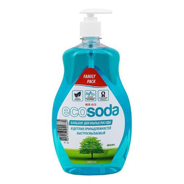Бальзам Ecosoda original для мытья посуды