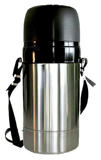Термос Амет 1С671 1 л серебристый/черный