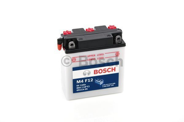 Аккумулятор автомобильный Bosch 0 092 M4F 120 12 Ач