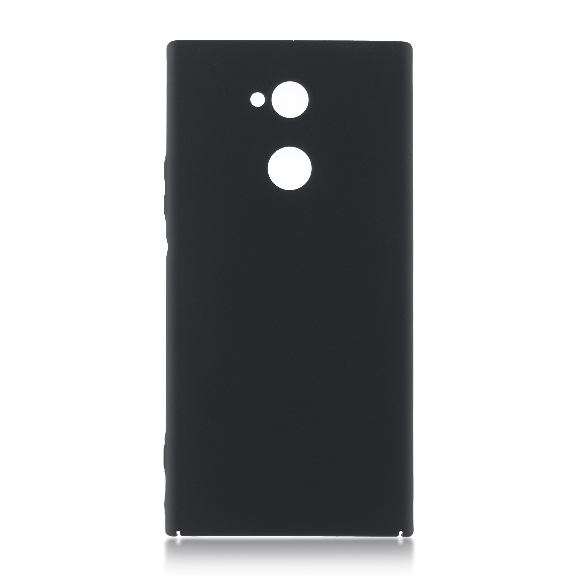 Накладка Brosco Soft-touch для Sony Xperia XA2 Ultra, черная