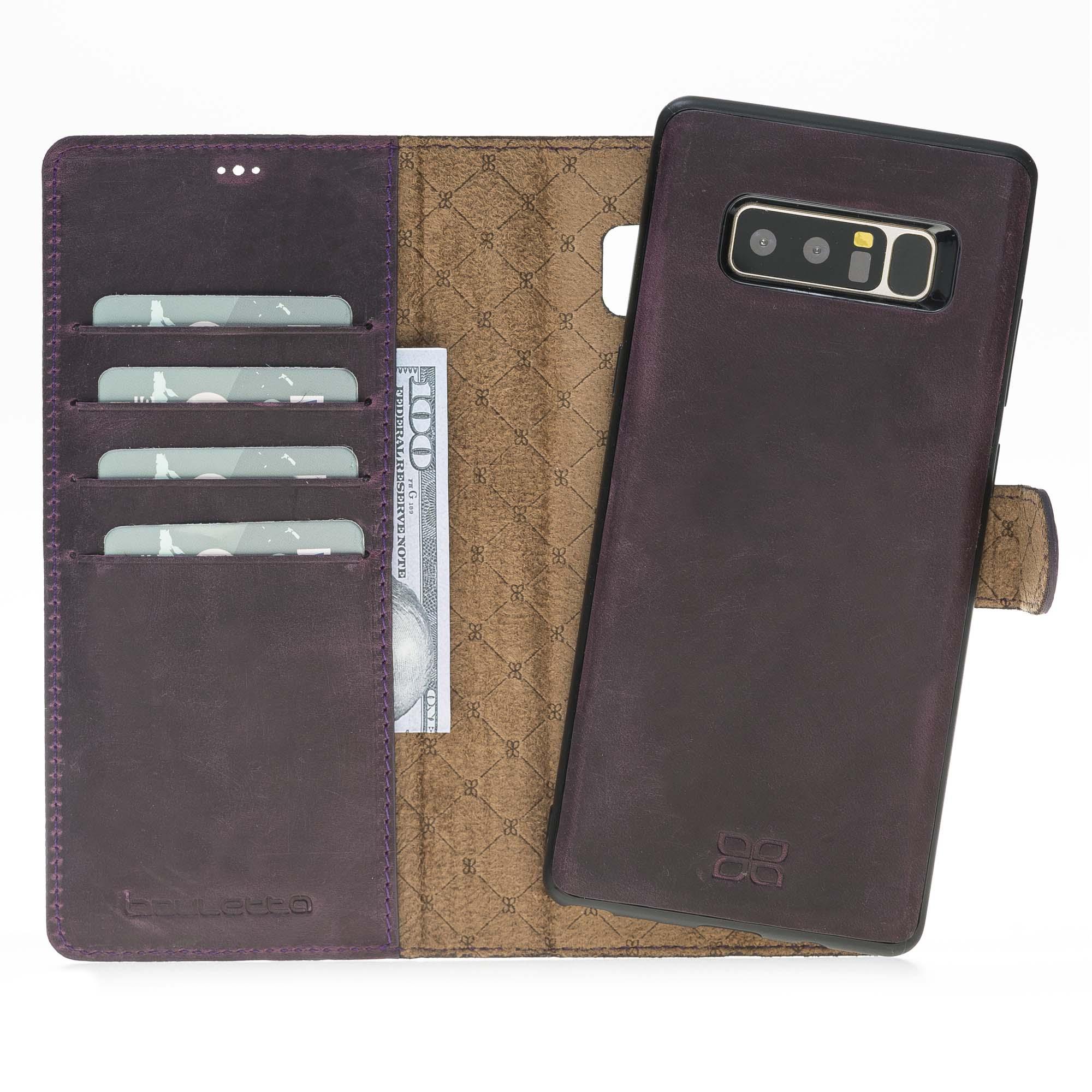 Чехол MagicWallet Bouletta Сливовый-G7 для Samsung Galaxy Note 8