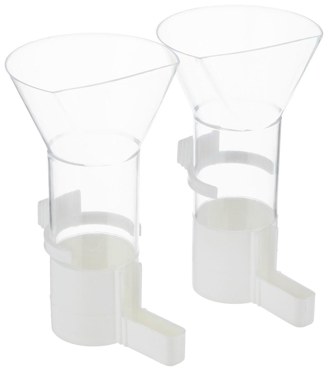 Кормушка для птиц Savic, пластик, прозрачный, 2