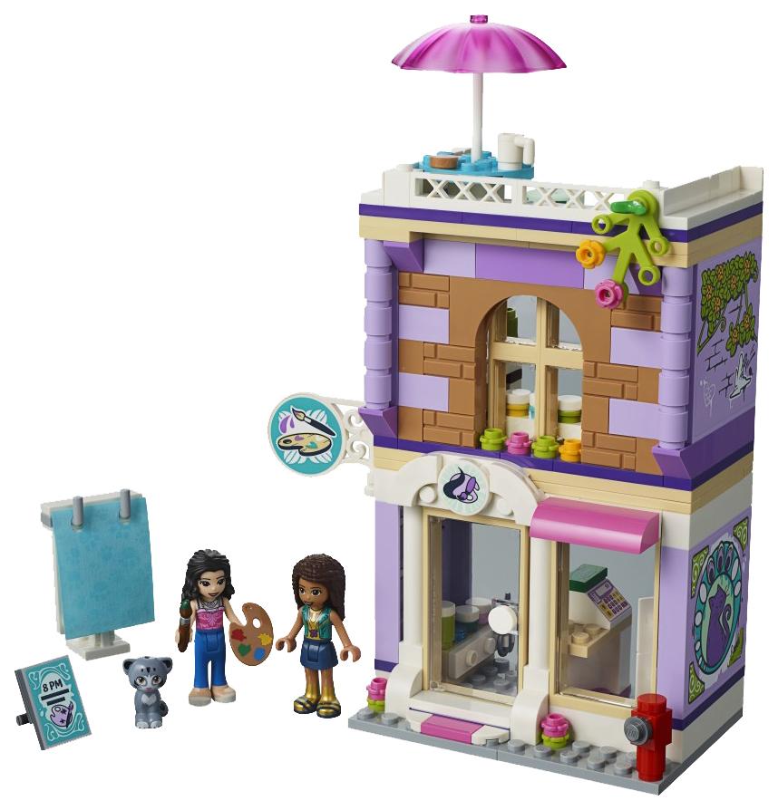 Конструктор LEGO Friends 41365 Художественная студия Эммы фото