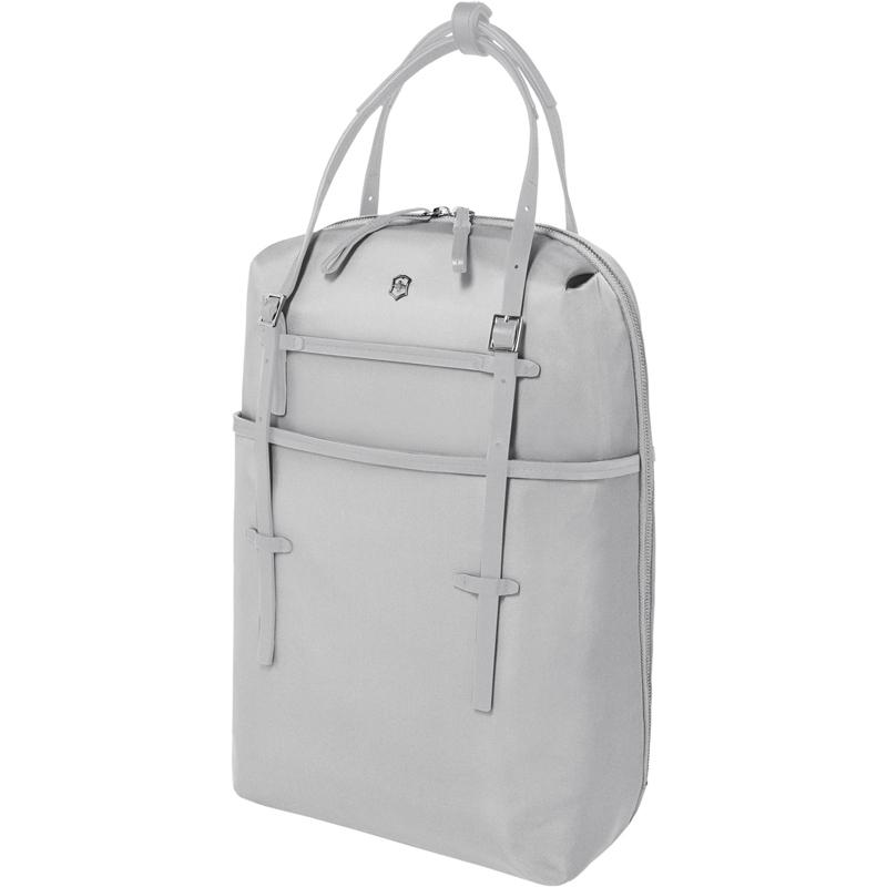 Рюкзак кожаный Victorinox Victoria Harmony 601772 серебристый 14 л