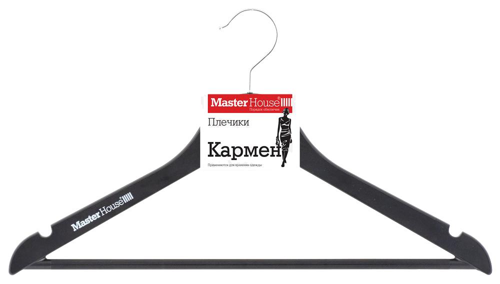 Вешалка плечики MasterHouse Кармен 60588 Черный