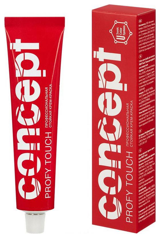 Краска для волос Concept Profy Touch 12,7 Экстрасветло-бежевый 60 мл