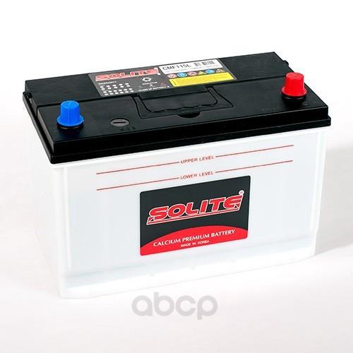 Аккумулятор автомобильный Solite CMF115L 115А/ч 850А полярность обратная фото