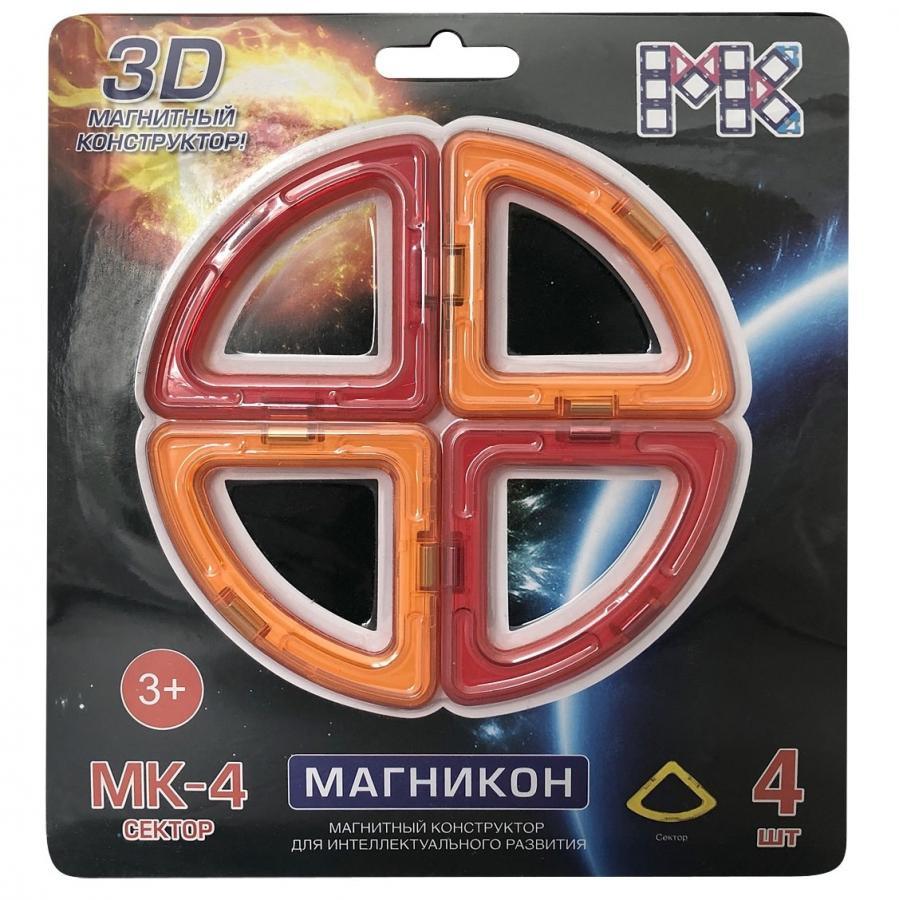 Конструктор магнитный Магникон МК-4-СЕ Секторы