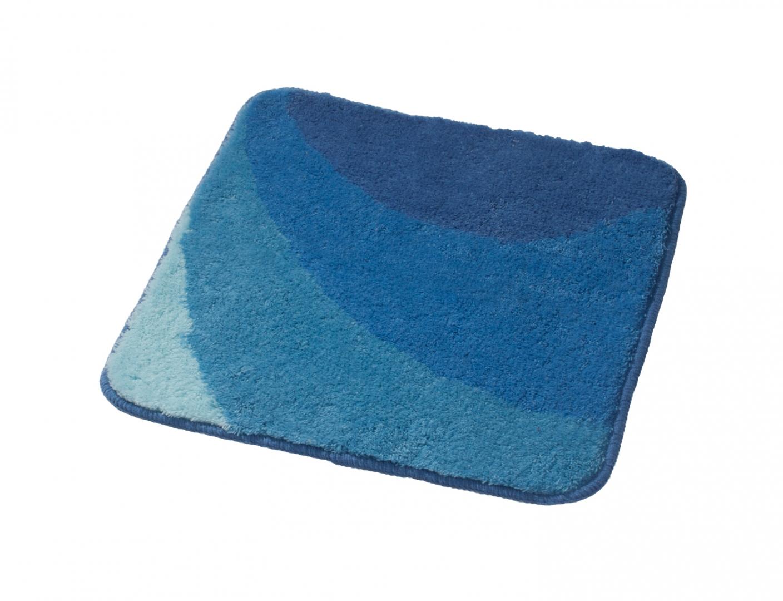 Коврик для ванной комнаты Tokio синий/голубой 55*50