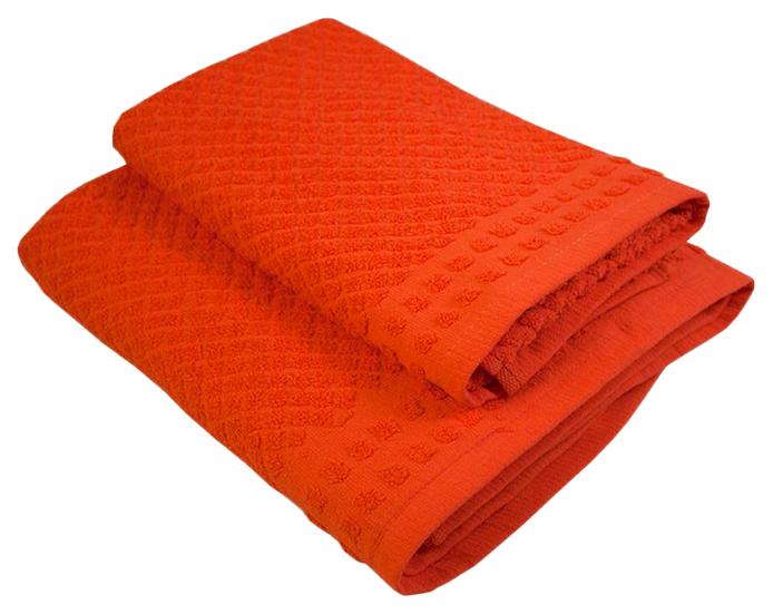 Банное полотенце, полотенце универсальное Belezza красный