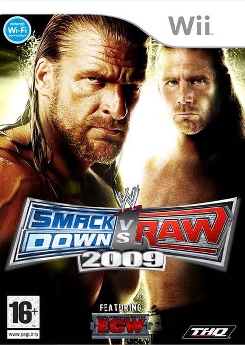 Игра WWE SmackDown vs Raw 2009