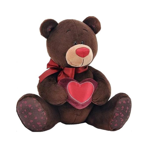 Купить Мягкая игрушка Orange Toys Choco&milk Медведь с сердечком С003/20,