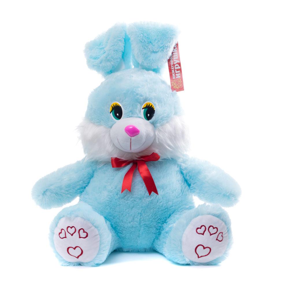 Купить Мягкая игрушка Заяц большой 62 см Нижегородская игрушка См-286-В-5, Мягкие игрушки животные