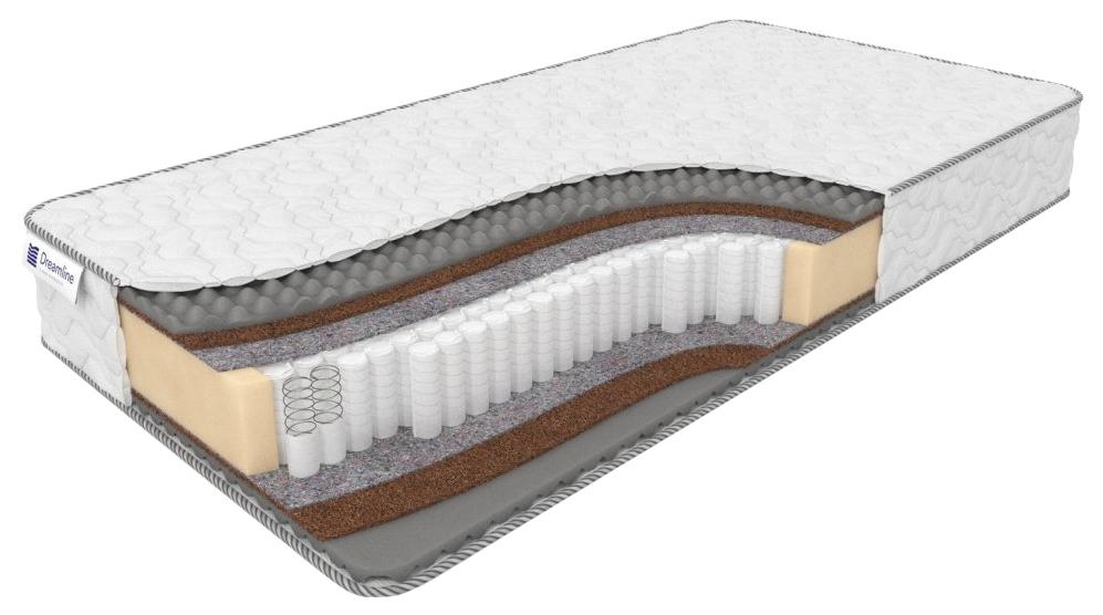 Анатомический матрас Dreamline Massage Coal Memory Space 88368 140х200 см фото