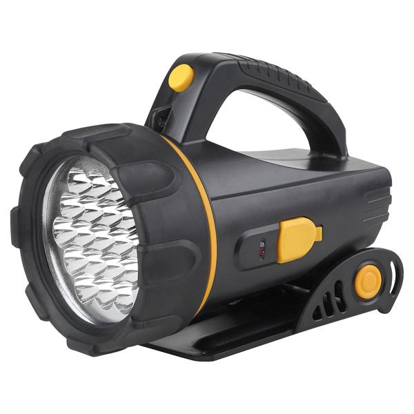 Туристический фонарь Эра FA18E черный/желтый, 2 режима
