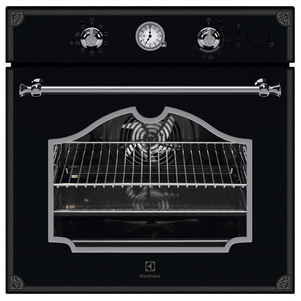 Встраиваемый электрический духовой шкаф Electrolux OPEB2650B Black фото