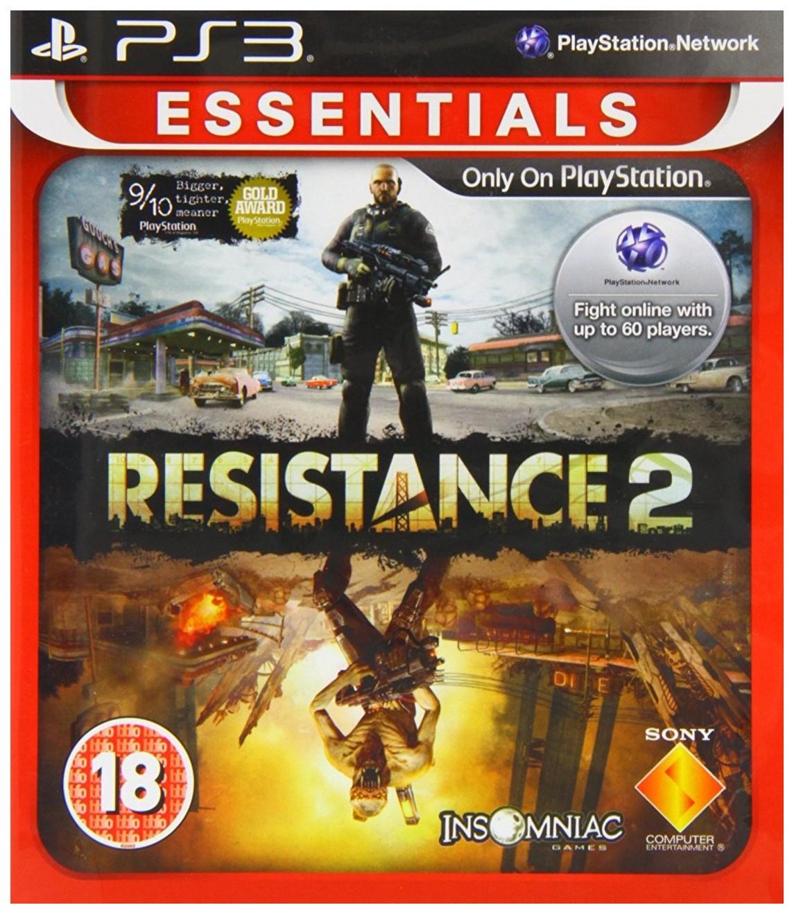 Игра Resistance 2 (Essentials) для PlayStation 3 Sony Resistance 2 (Essentials)