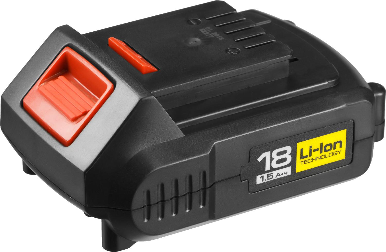 Аккумулятор LiIon для электроинструмента Зубр АКБ-18-Ли 15М4