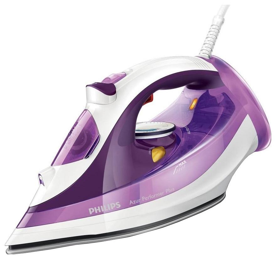 Утюг Philips Azur Performer Plus GC4519/30 White/Purple