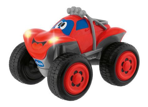 Игрушка-машинка Chicco Билли большие колеса, с д/у красная