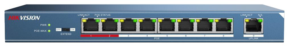 Коммутатор HikVision DS 3E0109P E Blue