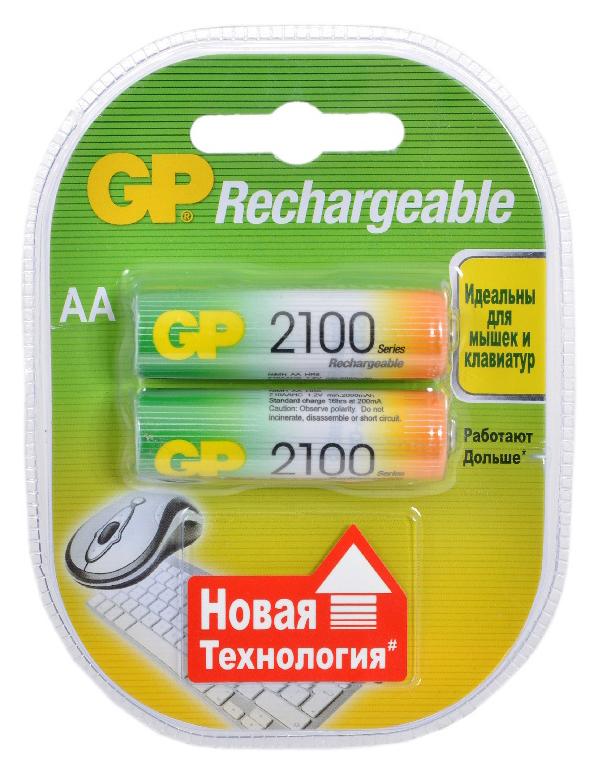 Аккумуляторная батарея GP Batteries 210AAHC 2CR2