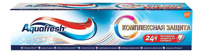 Зубная паста Aquafresh Комплексная защита 100 мл