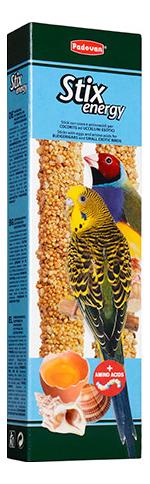 Лакомства для птиц Padovan Крекеры с аминокислотами для волн.попугаев и экзот.птиц 60г фото