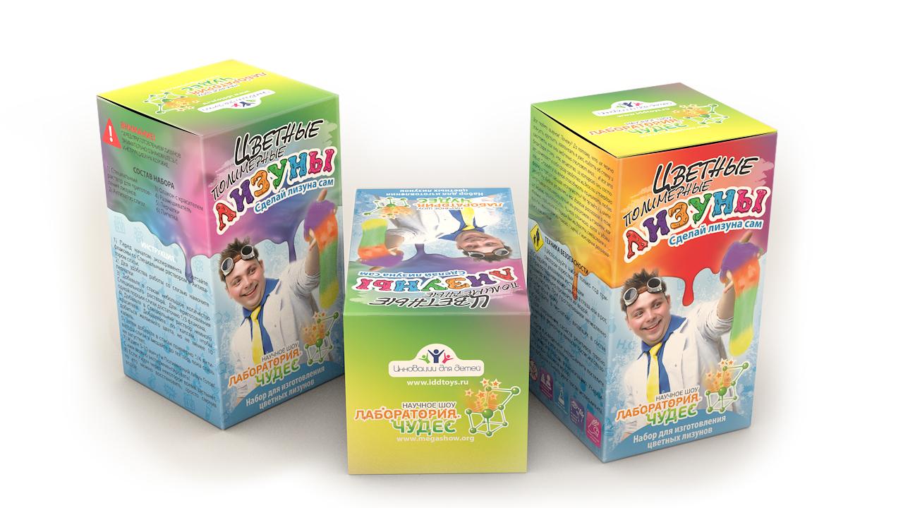 Купить Цветные полимерные. Лизуны, Набор для исследования Висма Цветные полимерные. Лизуны, Наборы для создания слаймов