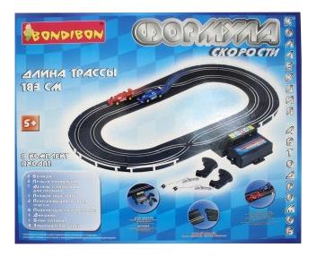 Купить Автотрек Bondibon Формула скорости, Детские автотреки