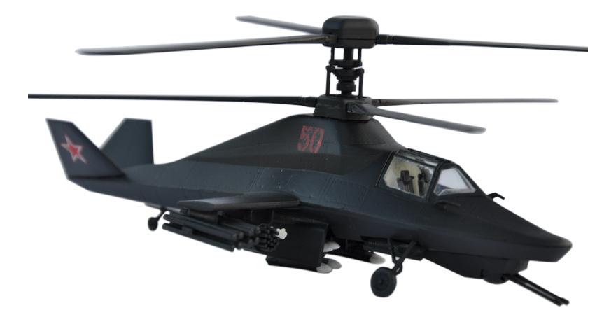 Модели для сборки Zvezda Вертолет Ка-58 Черный Призрак