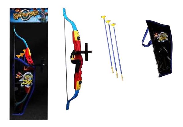 Купить Cо стрелами, Лук игрушечный Shantou Gepai Лук с 3 стрелами, Детские луки и арбалеты