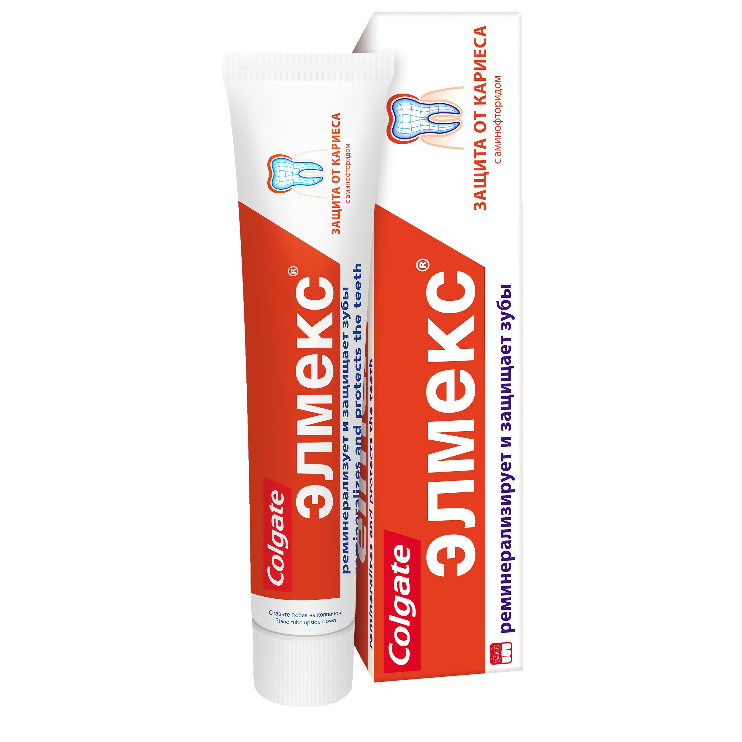 Купить Зубная паста Элмекс Защита от кариеса 75мл, защита от кариеса 75 мл
