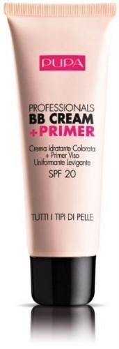 Тональный ВВ крем PUPA Professionals BB Cream + Primer, тон №01 Натуральный (50005001)