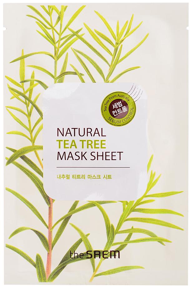 Купить Маска для лица the SAEM Natural Tea Tree Mask Sheet 21 мл