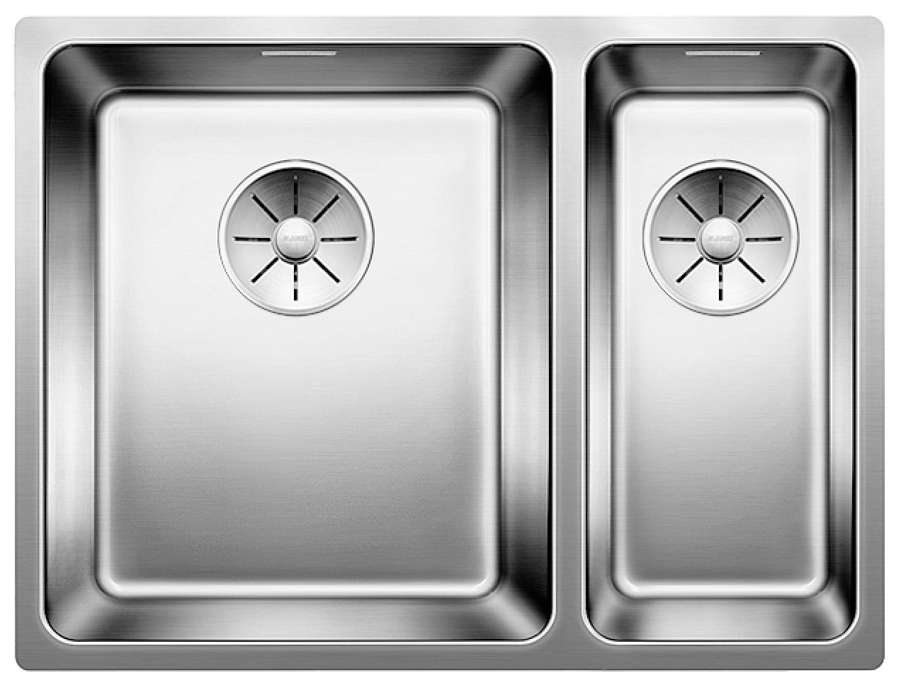 Мойка для кухни из нержавеющей стали Blanco Andano 340/180-U 522979 сталь фото