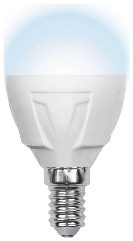 Лампа светодиодная (09455) E14 6W 4500K шар матовый LED-G45-6W/NW/E14/FR/S