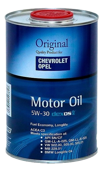 Моторное масло Fanfaro GM Opel Dexos2 5W-30 1л