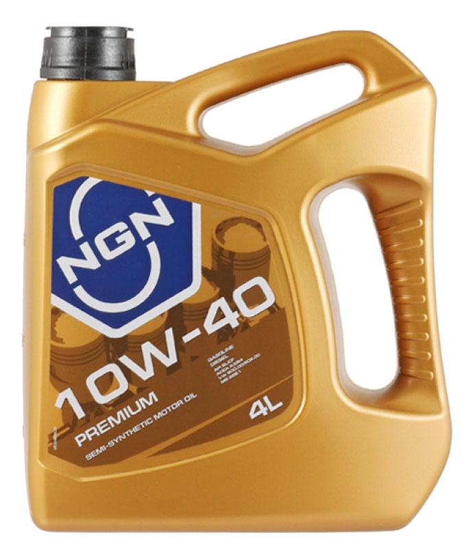 Моторное масло NGN Premium 10W-40 4л
